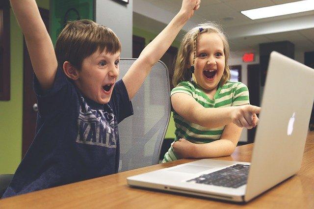 dziecko a komputer